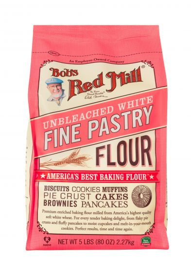 Bob's Red Mill Unbleached White Fine Pastry Flour 5lb