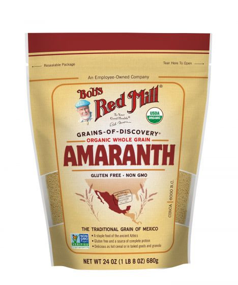 Bob's Red Mill GF Organic Amaranth Grain 24oz