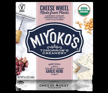 Miyoko's DF Garlic Herb Cheese 6.5oz