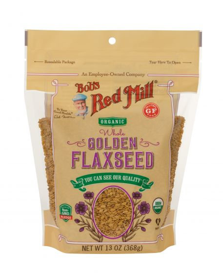 Bob's Red Mill GF Organic Golden Flaxseeds 13oz