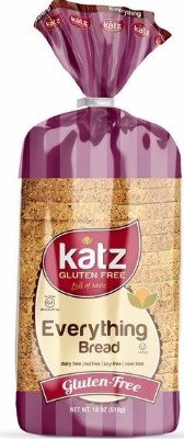 Katz GF DF Everything Bread 18oz