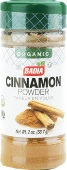 Badia Organic Ground Cinnamon 2oz