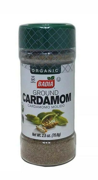 Badia Organic Cardamom 2.5oz