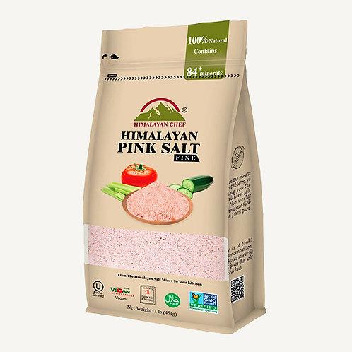 Himalayan Chef Himalayan Fine Pink Salt 1lb