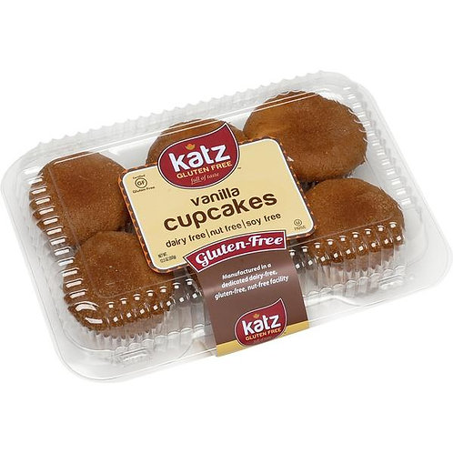 Katz GF Vanilla Cupcakes 12.5oz