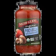 Muir Glen Organic Portabella Mushroom Sauce 25.5oz