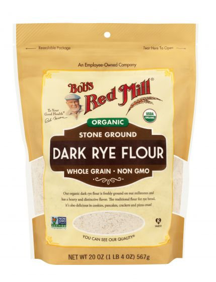Bob's Red Mill Organic Dark Rye Flour 20oz