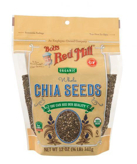 Bob's Red Mill GF Organic Chia Seeds 12oz