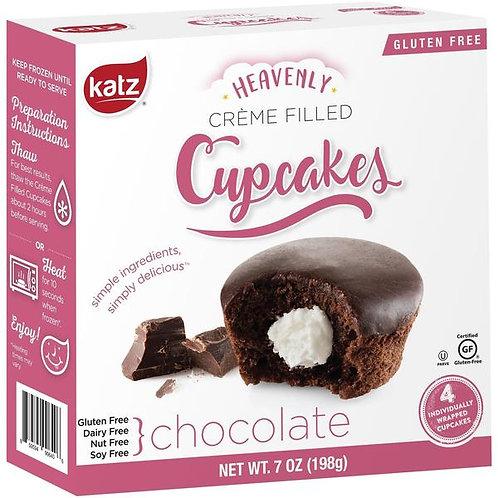 Katz Heavenly Creme Filled Chocolate Cupcakes 7oz