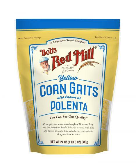 Bob's Red Mill Yellow Corn Grits Polenta 24oz