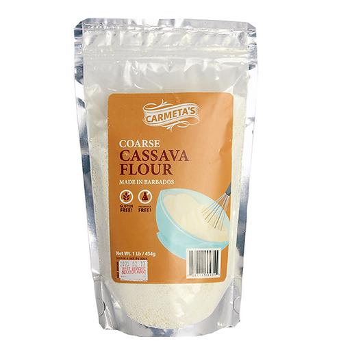 Carmeta's Coarse Cassava Flour 1lb GF