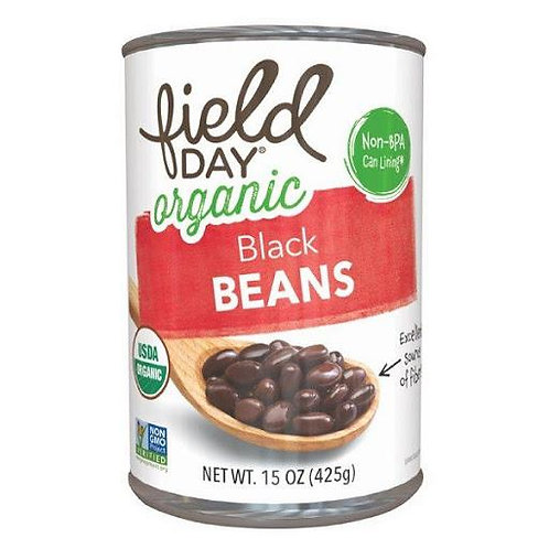 Field Day Organic Black Beans 15oz