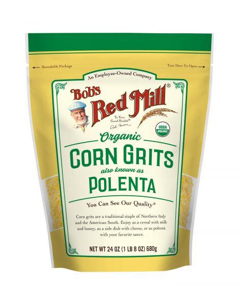 Bob's Red Mill Organic Corn Grits Polenta 24oz