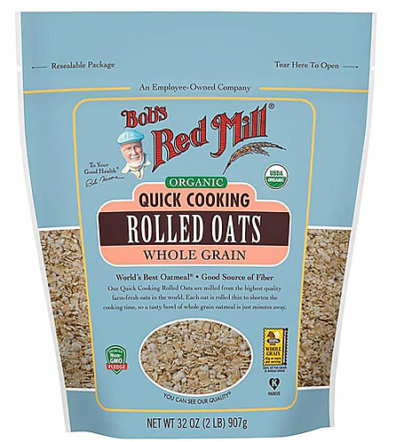 Bob's Red Mill Organic Quick Cooking Rolled Oats 32oz