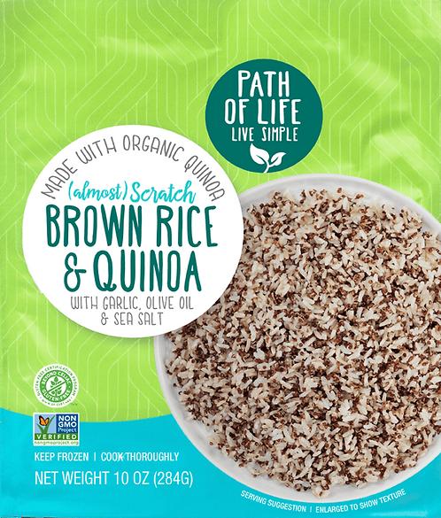 Path of Life Scratch Brown Rice & Quinoa Blend 10oz