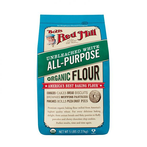 Bob's Red Mill Organic Unbleached White All Purpose Flour 5lb