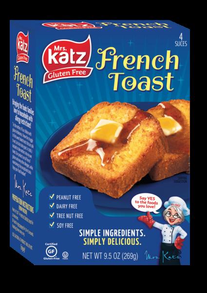 Katz GF Original French Toast 9.5oz