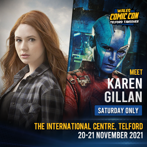 KAREN GILLAN - SEND-IN