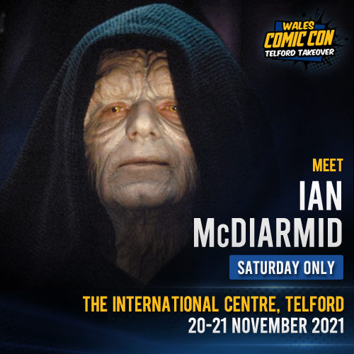 IAN McDIARMID - PREMIUM SEND-IN
