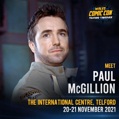 PAUL McGILLION - SEND-IN