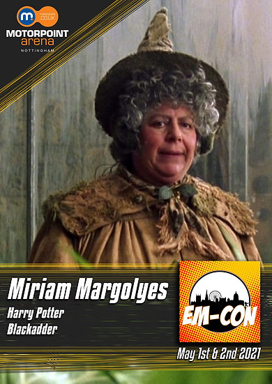 MIRIAM MARGOYLES - SEND-IN