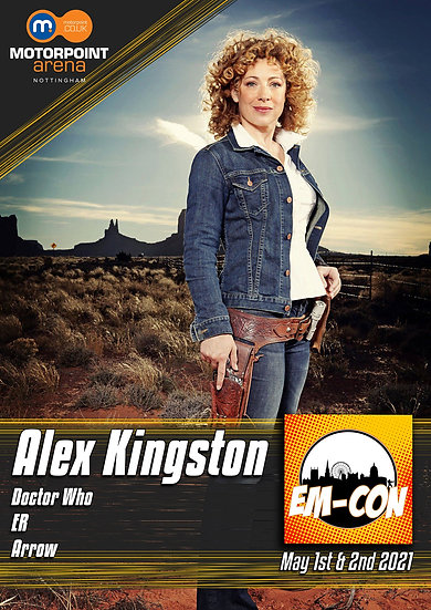 ALEX KINGSTON - SEND-IN
