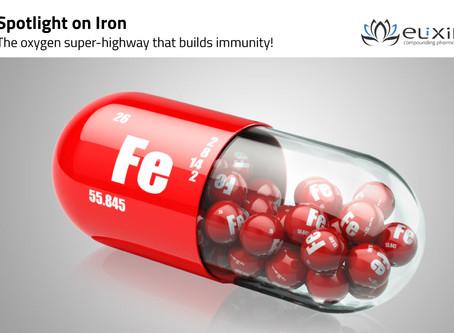 Spotlight on Iron!