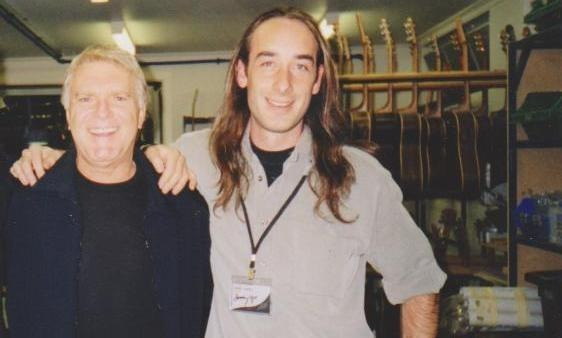 The legendary Billy Thorpe and Mark