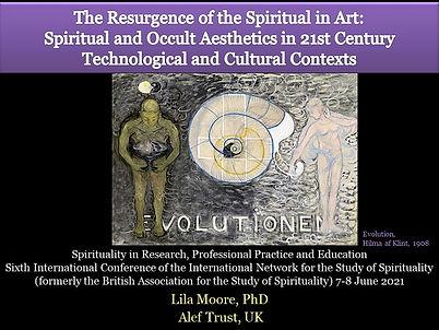 The spiritual in art by Lila Moore.jpg