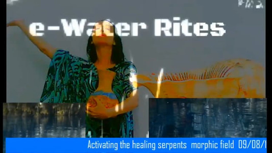 Activating the healing serpents' morphic field