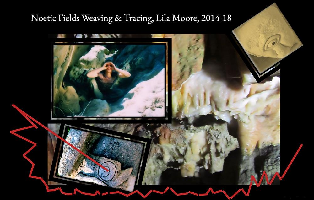Noetic Field Weaving & Tracking, Lila Moore, 2014-2018