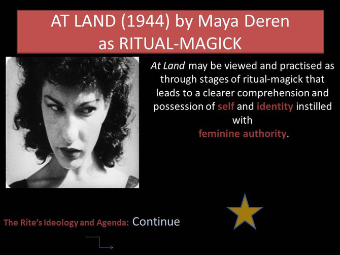 Film as Ritual-Magick
