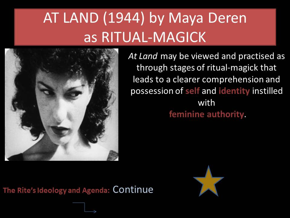 Film as Ritual-Magick Dr Lila Moore