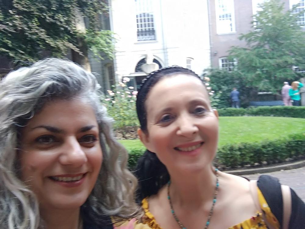 Dr Lila Moore and Dr Marianna Ruah-Midbar Shapiro at ESSWE7
