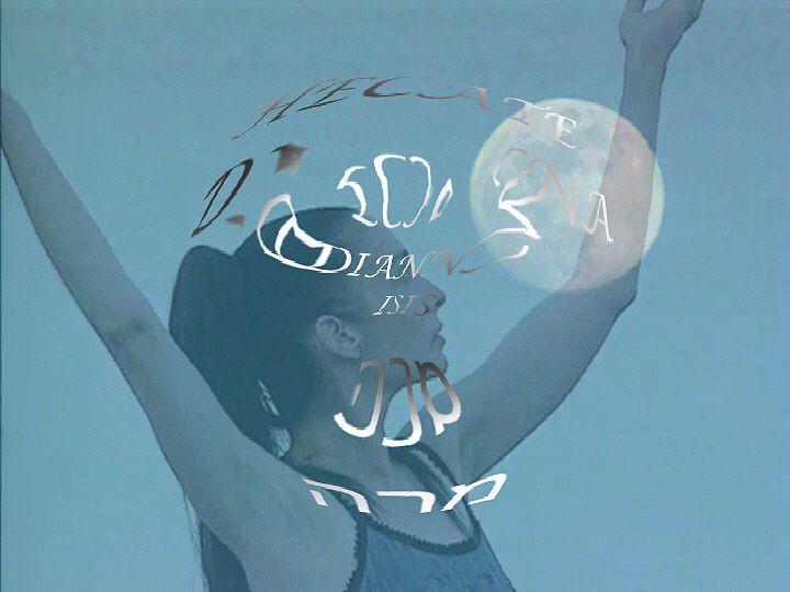 Digital Ritual-Magic, Pink Full Moon Spell by Lila Moore