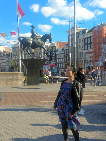 Dr Lila Moore in Amsterdam. 2-4 July 2019 ESSWE7 Conference