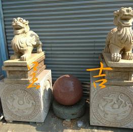 古體 貔貅 四象底座