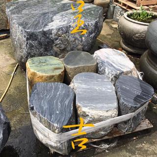 原石 石桌椅