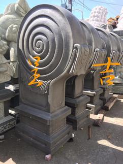 古體雕刻 石鼓