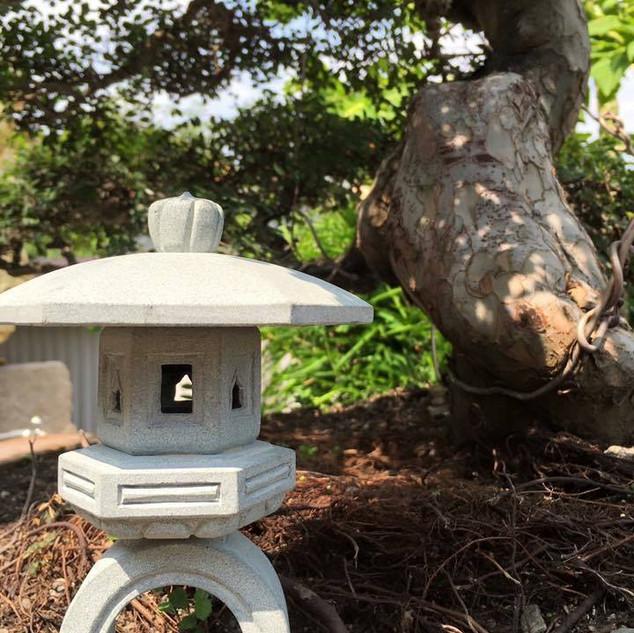 日式 迷你 石燈5