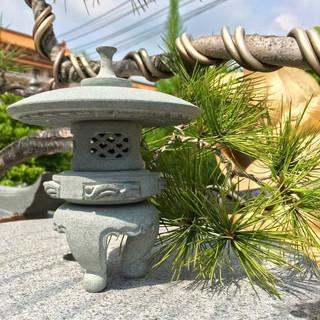 日式 迷你 石燈7