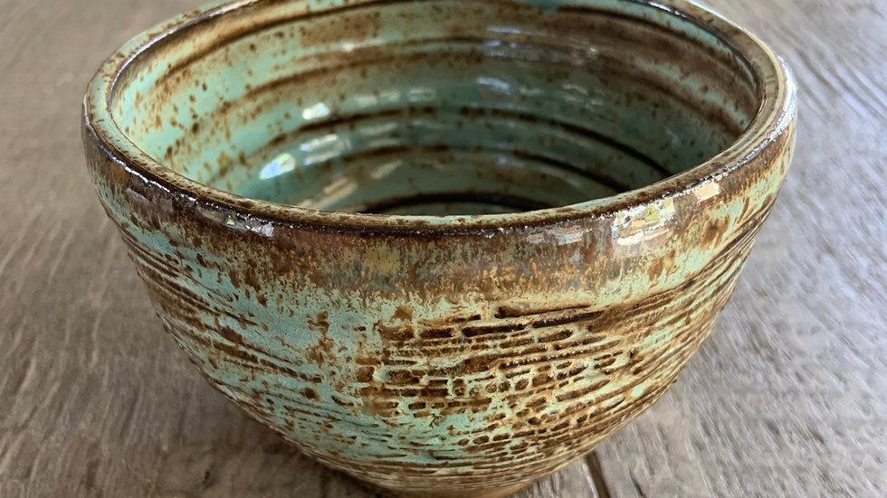 Hand Built Ceramic Bowl: #8