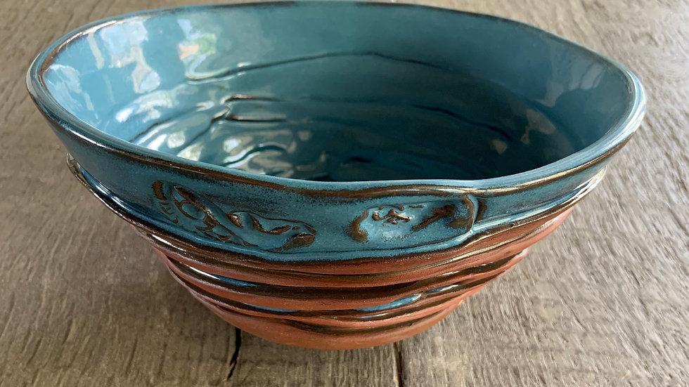 Hand Built Ceramic Bowl:  #1
