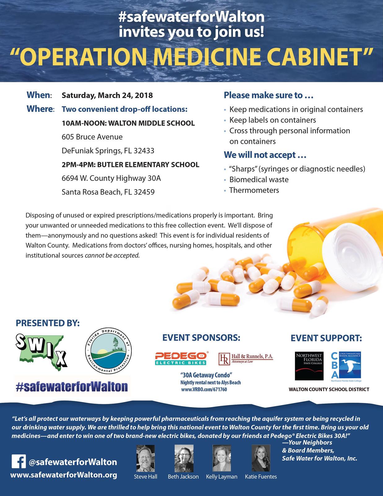 Operation Medicine Cabinet: