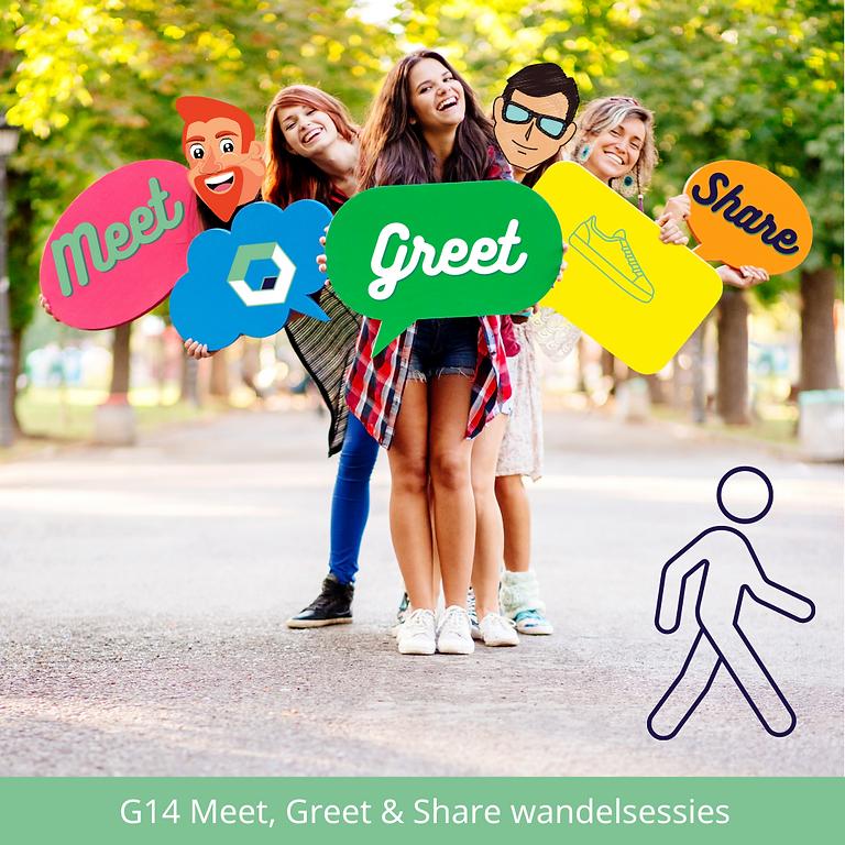 G14 meet, greet & share wandelsessie