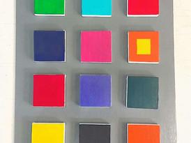 3D Panel Canvas Painting Elizabeth Green