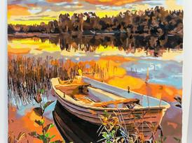 Autumn Acrylic Painting By Sarah Han