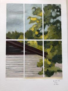 Vermont Studio Center: Studio Window