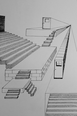 Imaginative 1-Point Perspective