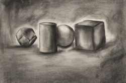 Value Drawing of Still-Life